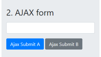 Multiple Submit Buttons